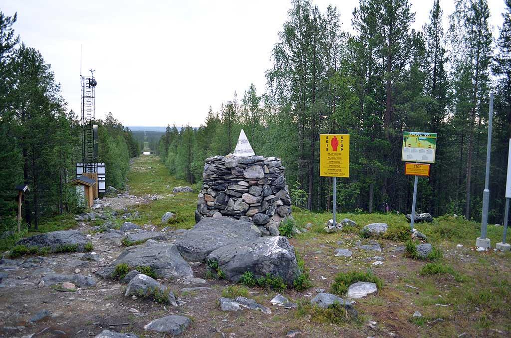 Dreiländereck Russland, Norwegen und Finnland