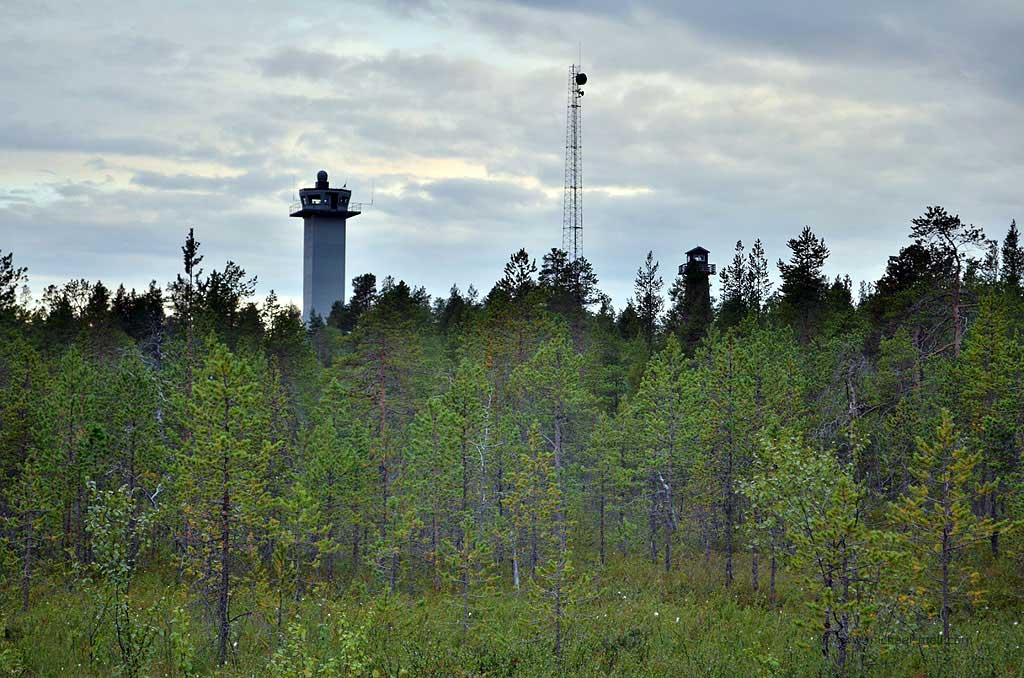 Wachturm an der russischen Grenze