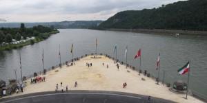 Mosel in den Rhein
