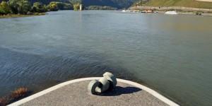 Nahe in den Rhein