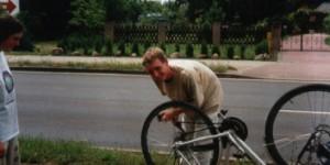 Panne auf der Radreise