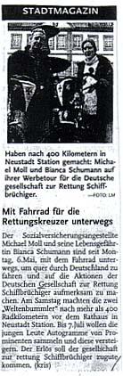 Rheinpfalz vom 14. Mai 2002