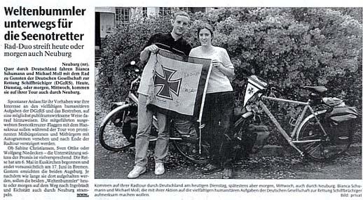 Neuburger Rundschau vom 28. Mai 2002
