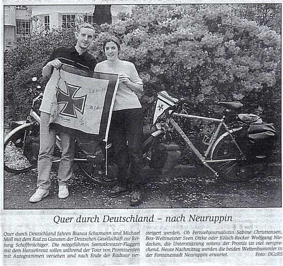 Ruppiner Anzeiger vom 6. Juni 2002