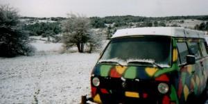Provence im Schnee