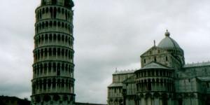 Pisa mit dem schiefen Turm