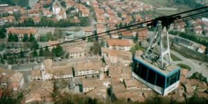 Blick auf San Marino