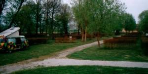 Einsamer Campingplatz in Ungarn