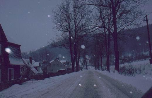 Schnee in Schlesien
