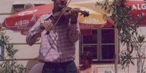 Geigenspieler in Ungarn