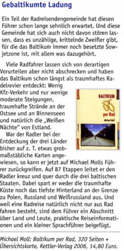 Radzeit Mai 2006