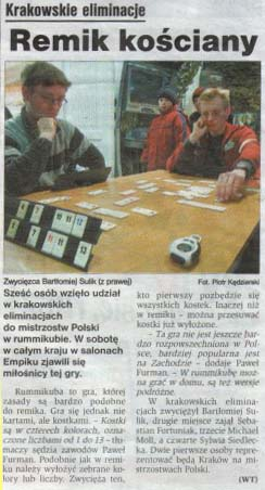 Dziennik Polski Juni 2006