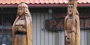 Holzschnitzereien