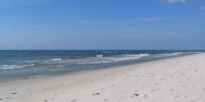 Strand in Skane