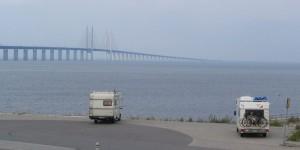 Blick auf die Öresundbrücke