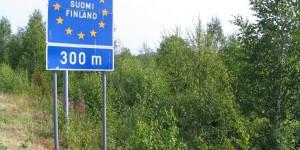 Grenze zu Finnland