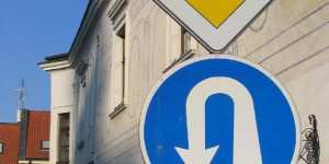 Verkehrsschild in Bratislava