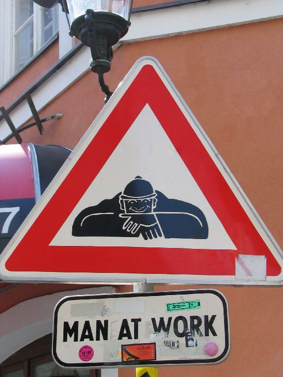 Men at Work in Bratislava