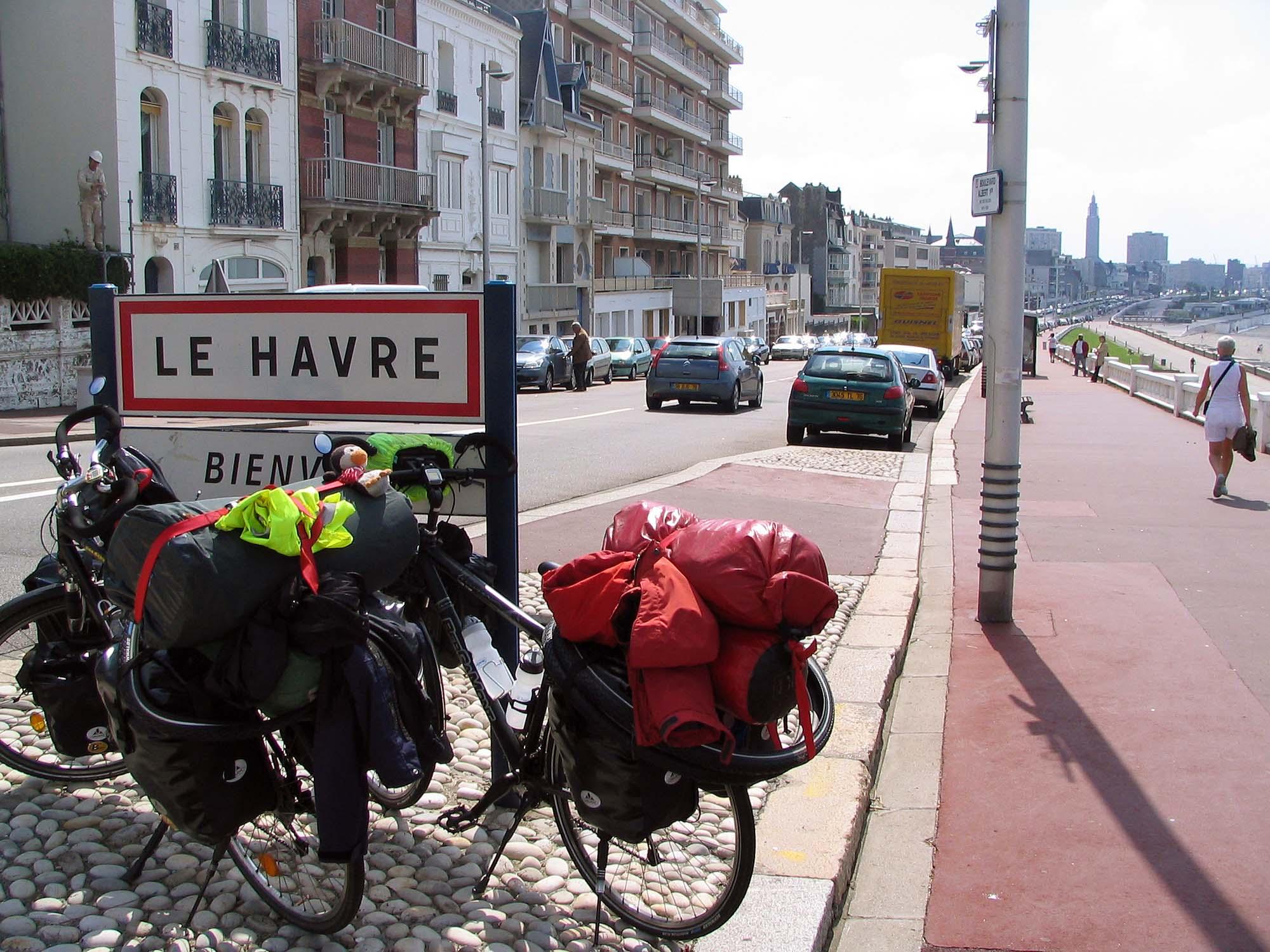 Radreise durch Europa