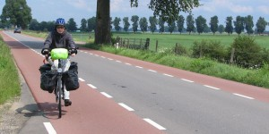 Radweg in Holland