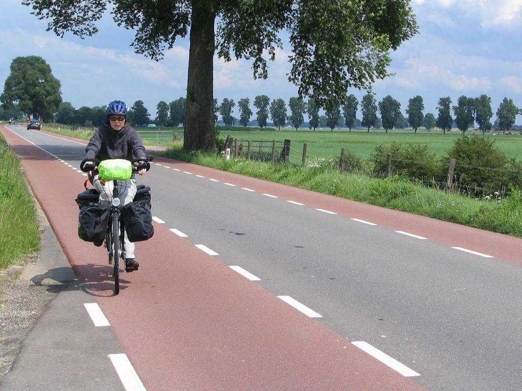 Radweg in Holland