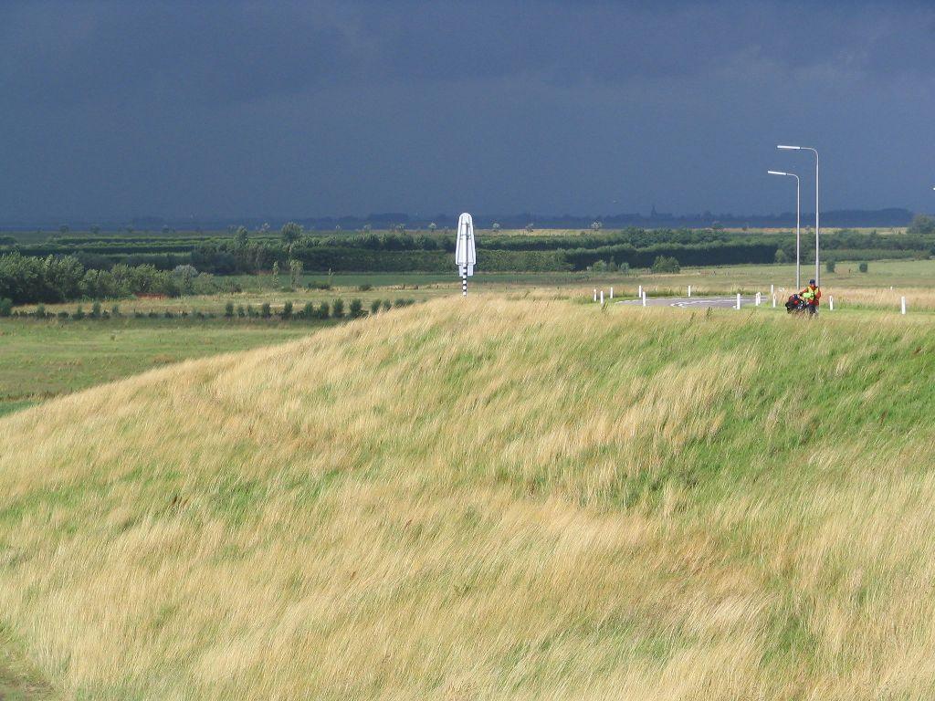 Schlechtes Wetter in Holland