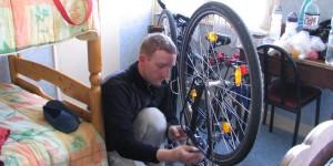 Fahrrad wieder zusammenbauen
