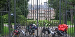 Fahrräder in Etretat