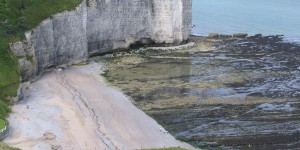 Küste an der Normandie