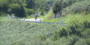 Fahrrad in der Normandie