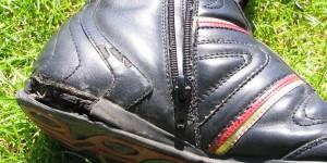Kaputter Schuh