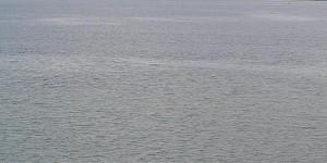 Frachtschiff auf dem Atlantik