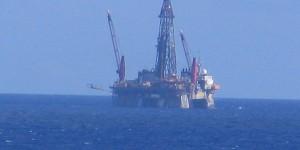Ölbohrinsel vor Brasilien