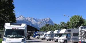 Wohnmobilstellplatz Garmisch