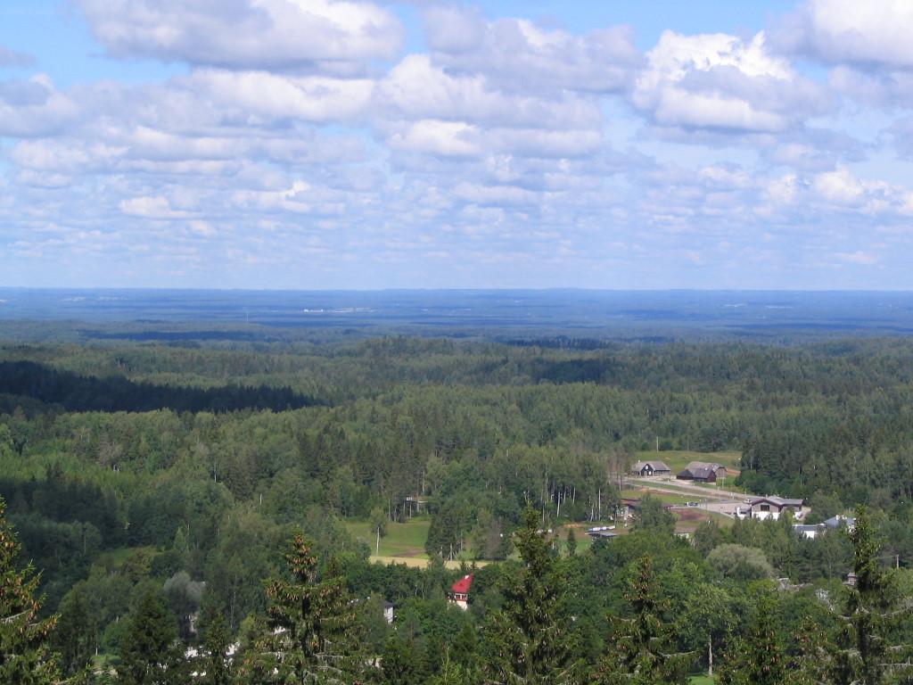 Am höchsten Punkt vom Baltikum