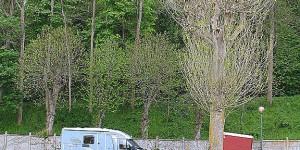 Campingplatz in Etretat