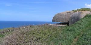 Ehemaliger Bunker des Atlantikwalls