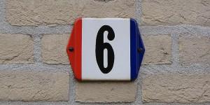 Hausnummer auf holländisch