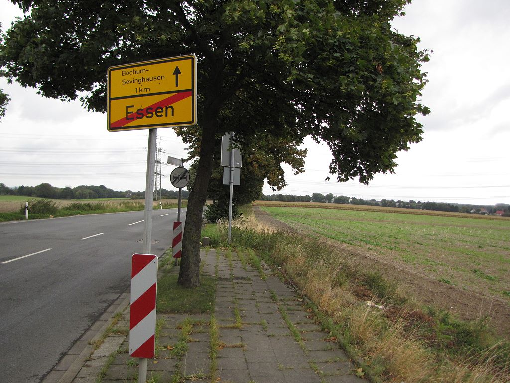 Felder zwischen Bochum und Essen