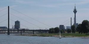 Skyline von Düsseldorf