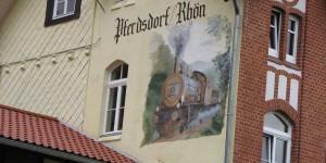 Alter Bahnhof in Pferdsdorf
