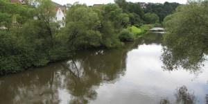 Fluss Fulda bei Bebra