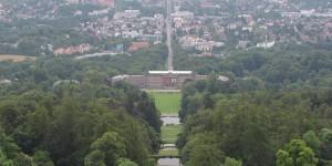 Blick vom Herkules auf Kassel