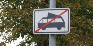 VW Busse verboten