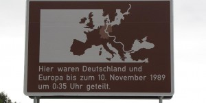 Erinnerung an die deutsche Grenze