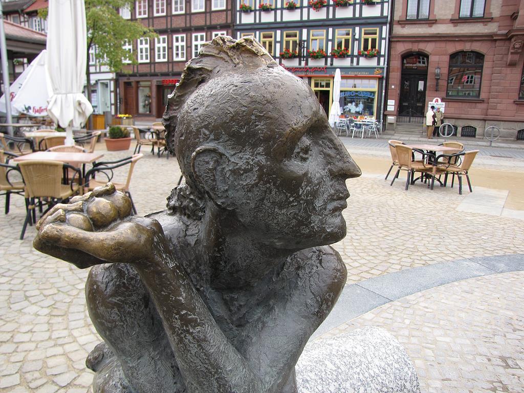 Skulptur in Wernigerode