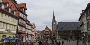 Marktplatz von Quedlinburg