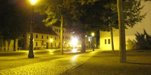 Lutherstadt Wittenberg bei Nacht