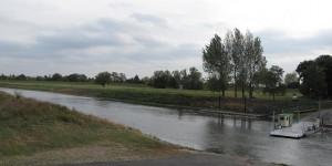 Fähre über die Saale bei Tornitz