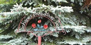 DDR-Relikt, schönes produktives Dorf